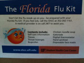 UF Flu Kit 2009