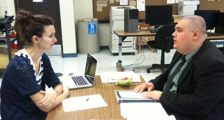 How to help students practice their job interviewing skills