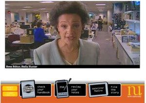 The Be A Reporter Game is an excellent example of educational gaming. You can play the game at NewsU.org.