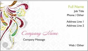 Vistaprint business card