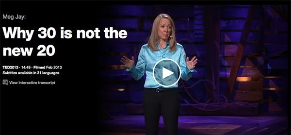 Meg Jay TED Talk