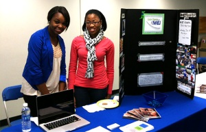 NABJ tabling - photo by Julie Dodd