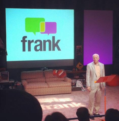 David Fenton speaking at frank conference 2014