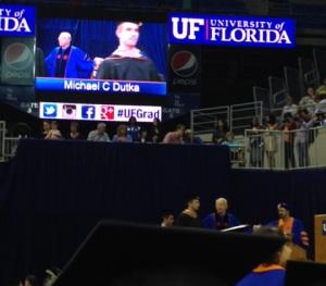 Gator grad crossing stage
