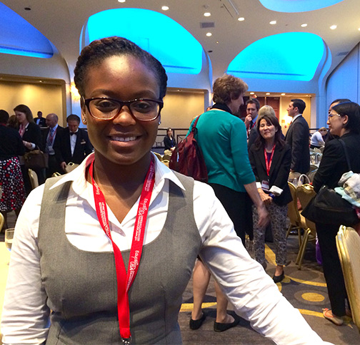 Antionette Rollins at IIE conference