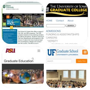 graduate school collage