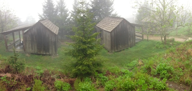 cabins at LeConte Lodge