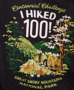 GSMNP Hike 100 T-shirt