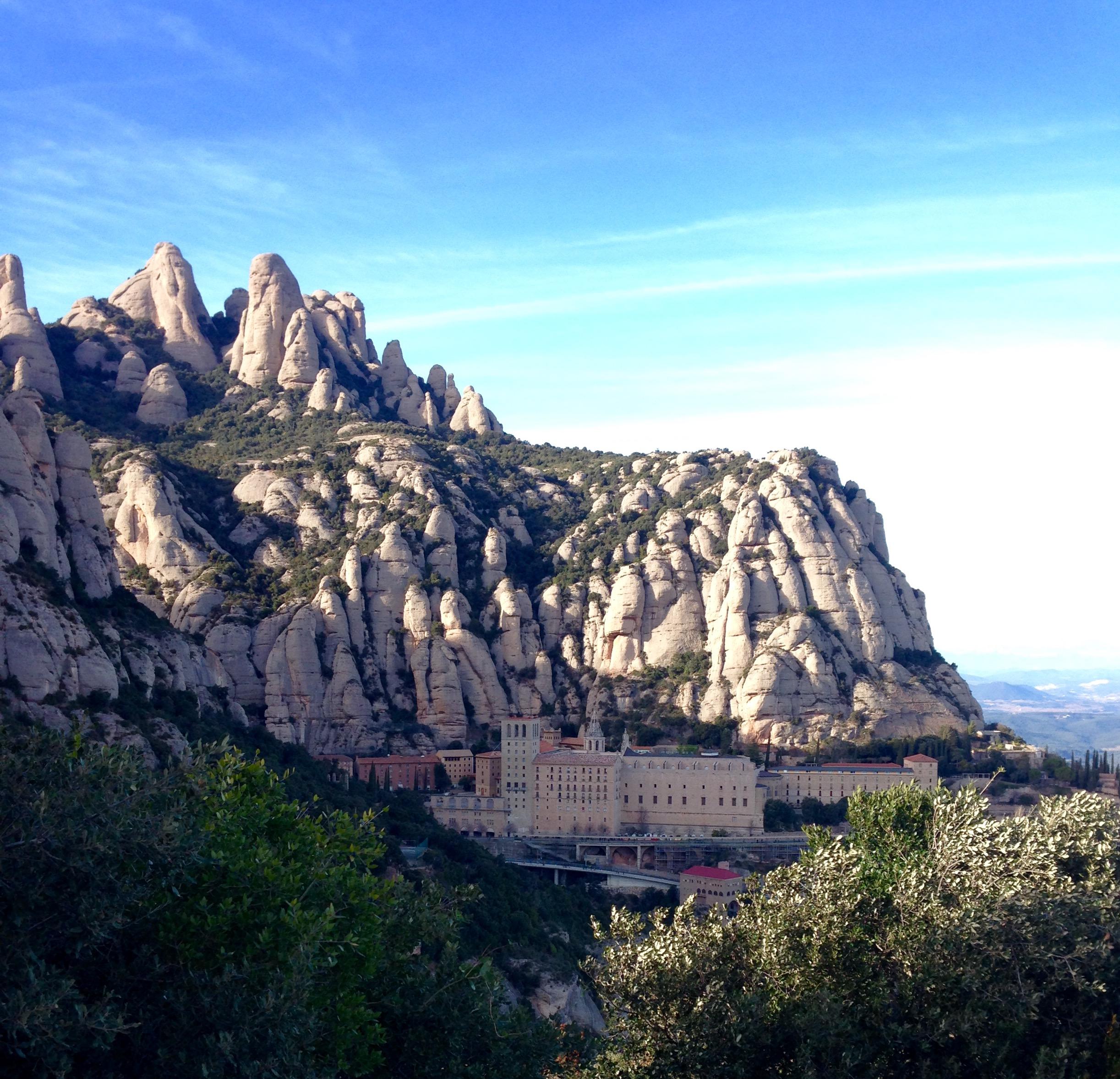 Montserrat from St. Michael's cross