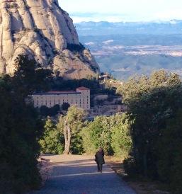 Walking path at Montserrat - photo by Julie Dodd