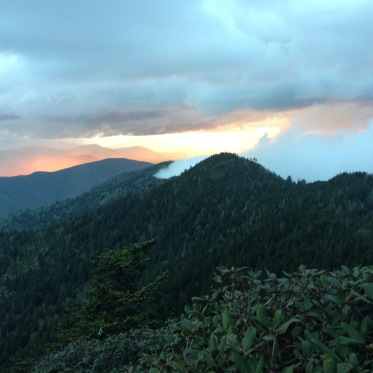 Mt. LeConte sunset - photo by Julie Dodd