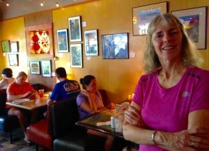 Julie Dodd's photography at Satchel's Pizza