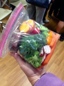 Elizabeth Burt's veggie pack