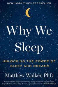 Why We Sleep book cover