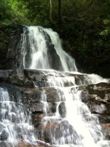 Laurel Falls - photo by Julie Dodd