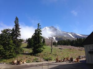 View of Mount Hood from Timberline Lodge