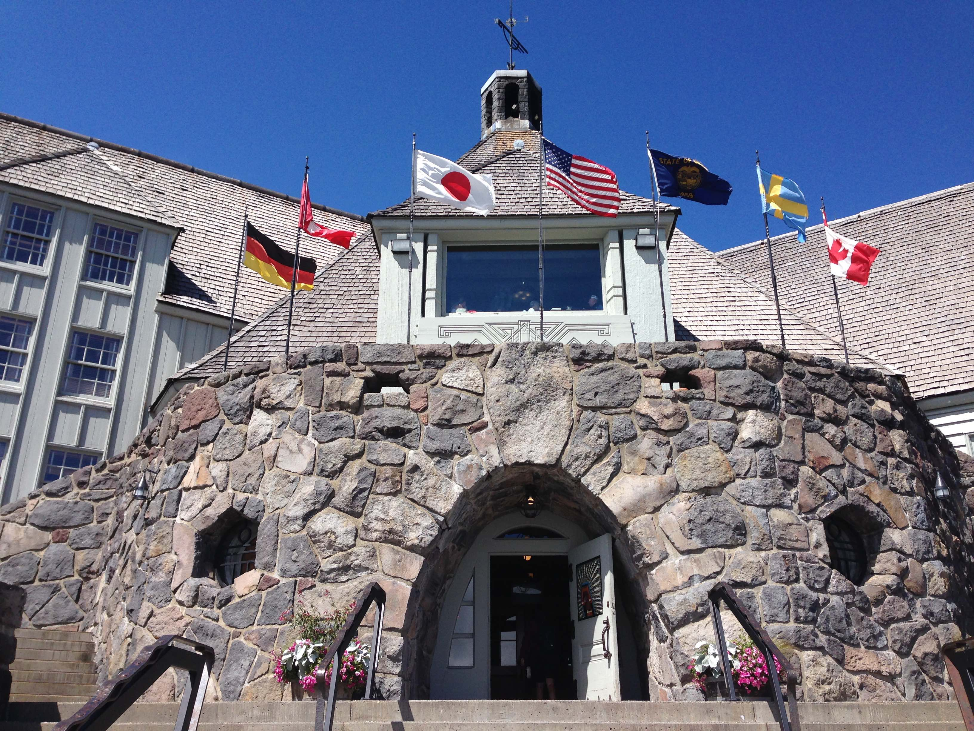 Timberline Lodge - photo by Julie Dodd