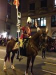 Mounted rider in BCN Three Kings Parade
