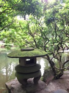 Portland Japanese Garden Peace Lantern - photo by Julie Dodd