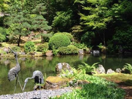 Portland Japanese Garden Strolling Pond Garden