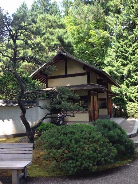 Portland Japanese Garden Kashintei Tea House