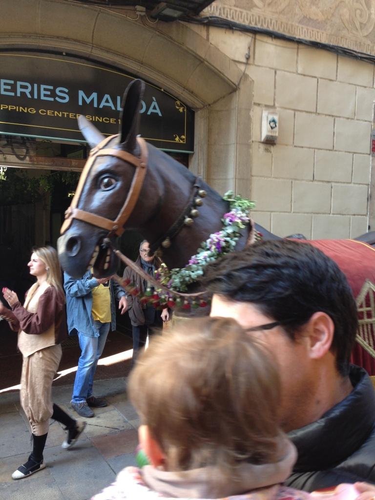 Mule in Festes de San Jose Oriol