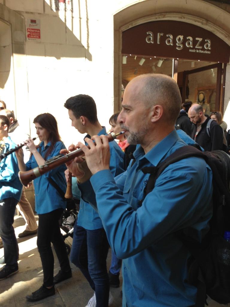 grallas performing in Festes de San Jose Oriol